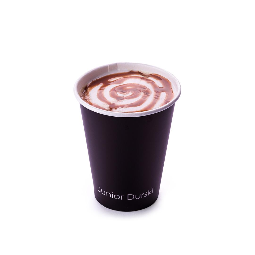 Cappuccino com Calda de Chocolate Branco P