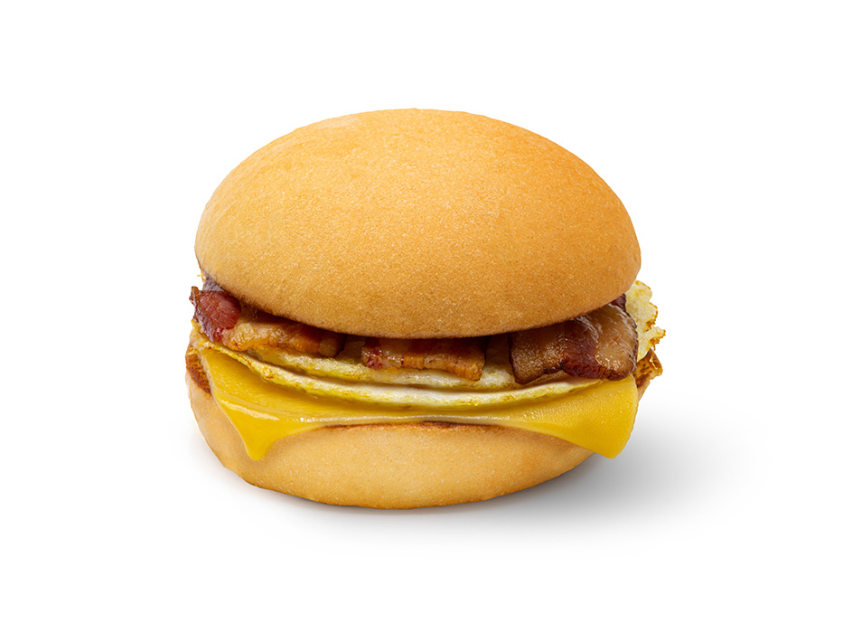 Double Cheese Egg & Bacon