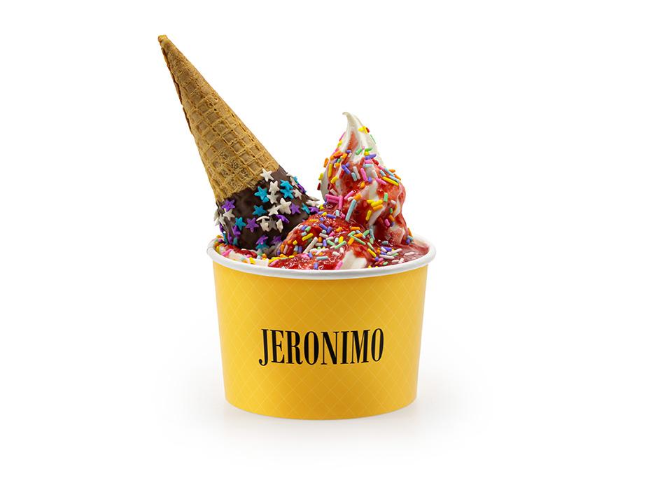 Jeronimo ICE com Calda de Morango GG