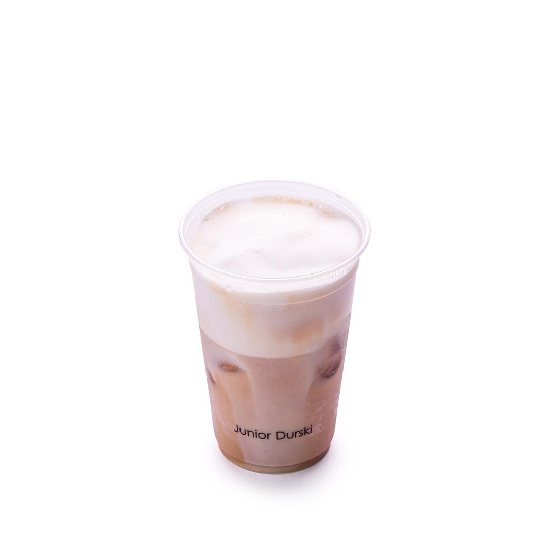 Iced Café Latte com Leite Vegetal de Castanha P