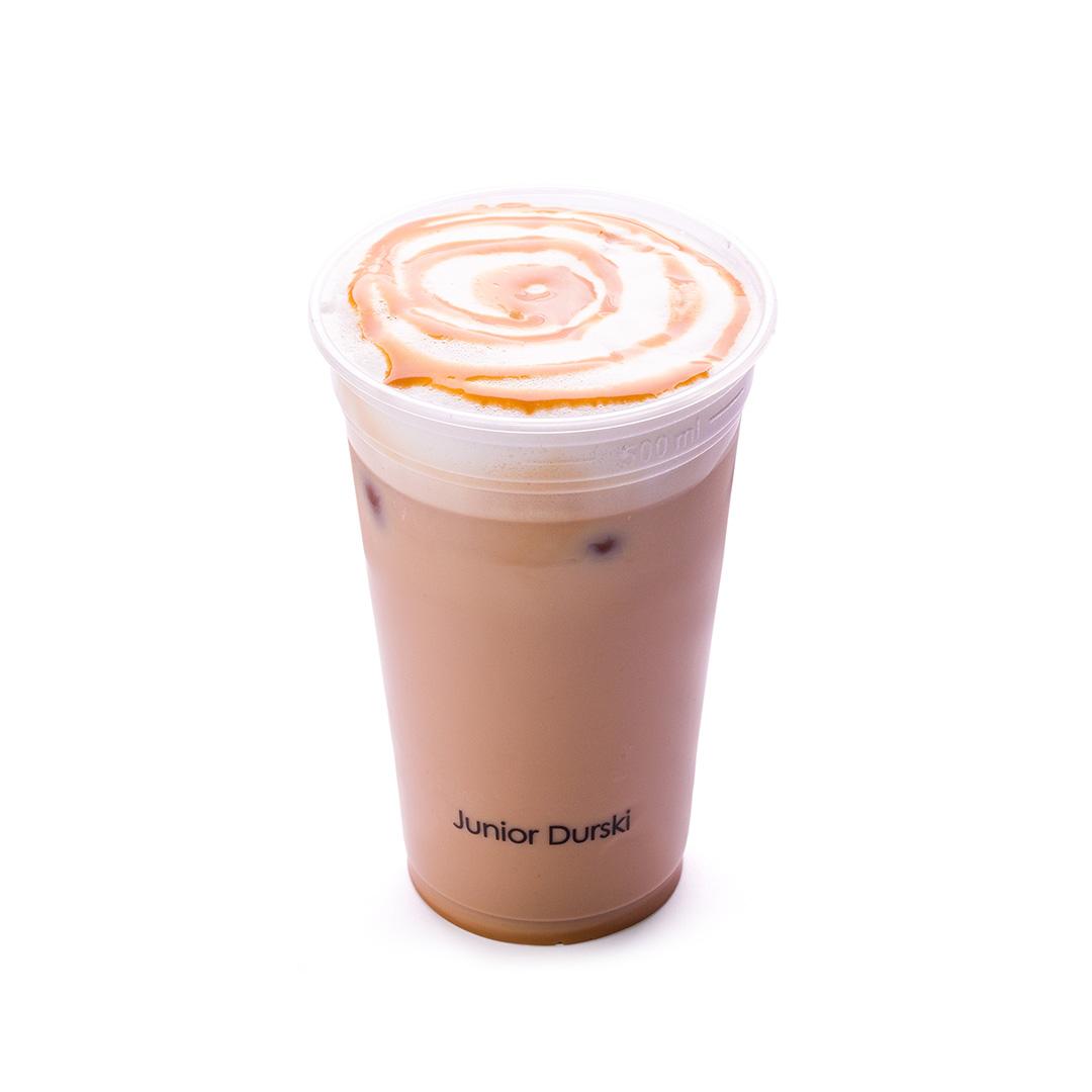 Iced Doce de Leite Latte com Leite Vegetal de Castanha M
