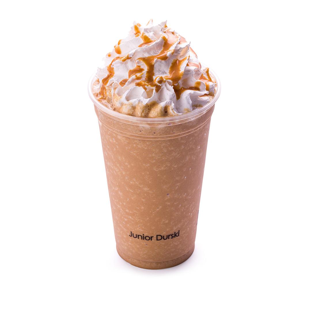 Frapê com Café e Leite Desnatado - Doce de Leite M