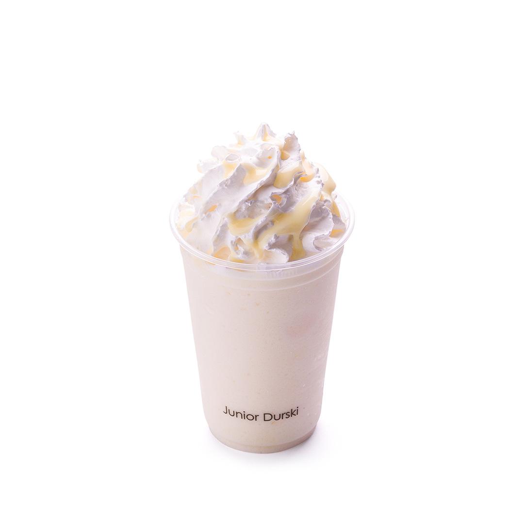 Frapê de Chocolate Branco com Leite Desnatado P