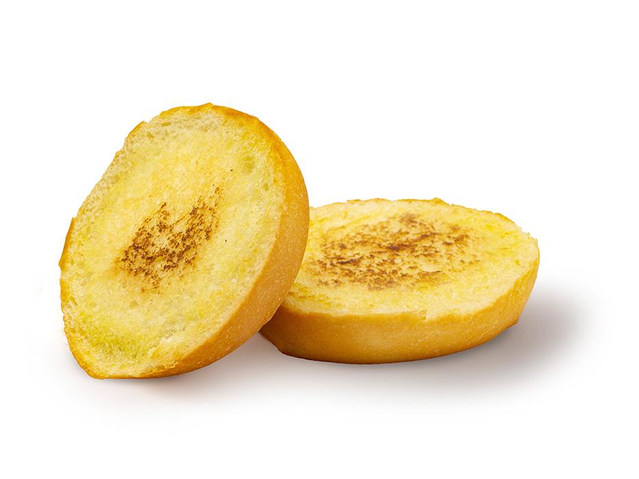 Pão Tostado com Manteiga