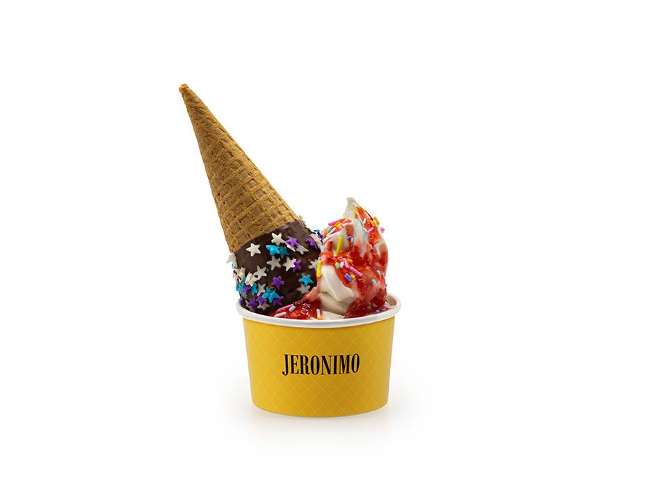 Jeronimo ICE com Banana em Calda P