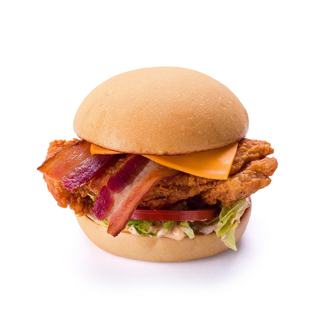 Sobrecoxa Crispy Bacon