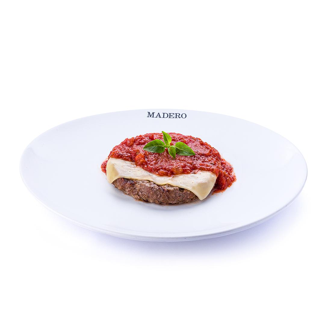 Hamburger à Parmegiana
