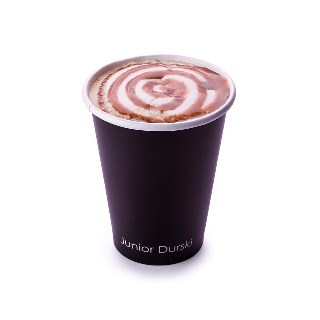 Cappuccino com Calda de Brigadeiro e Leite Vegetal de Castanha M