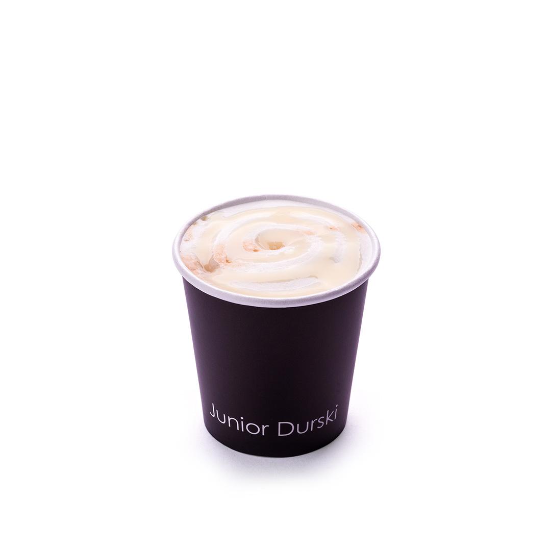 Espresso com Calda de Chocolate Branco