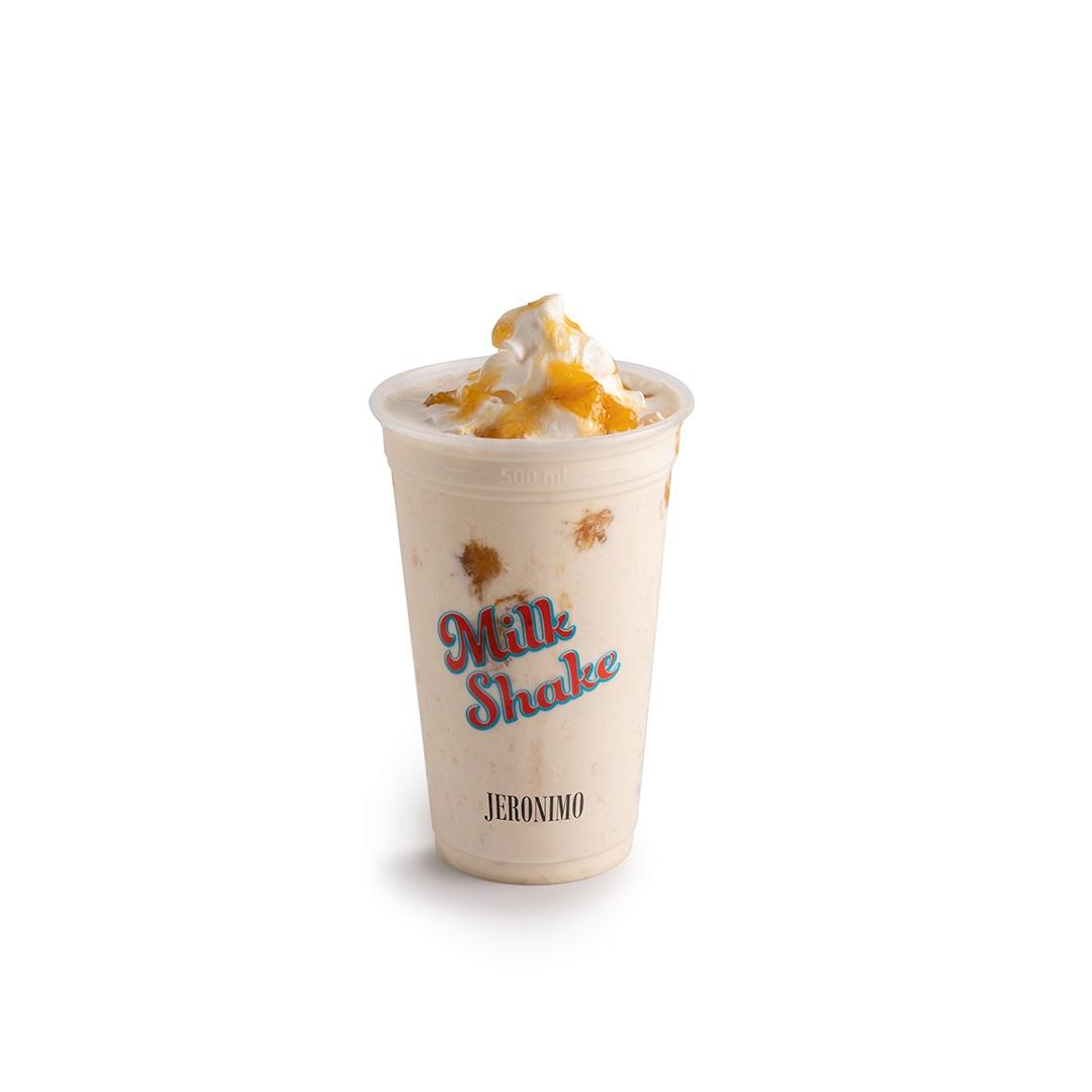 Milk Shake de Banana em Calda P