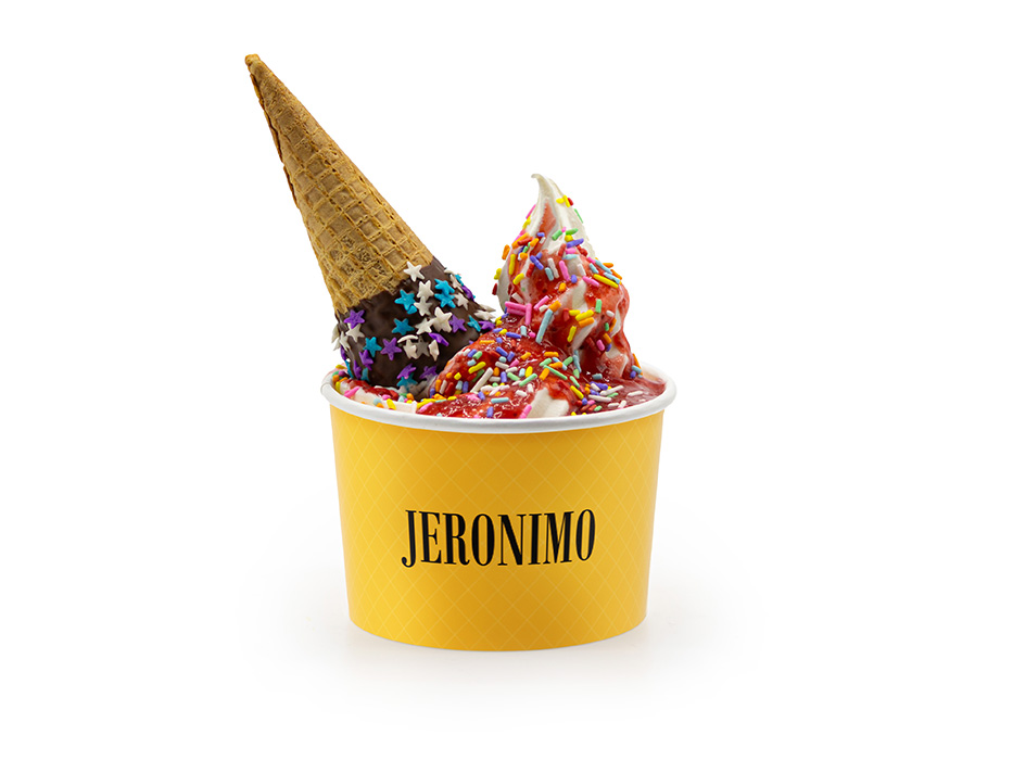 Jeronimo ICE com Calda de Chocolate GG